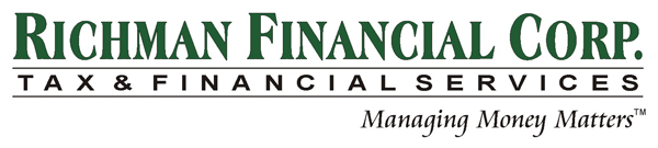 Richman Financial Corporation – Taxes, Bookkeeping